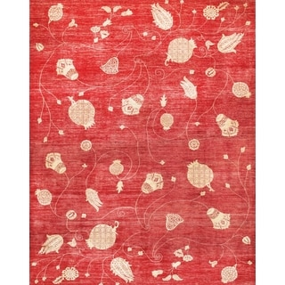 Pasargad Modern Hand-knotted Wool Rug (9' x 11')