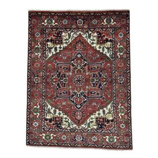 Serapi Heriz Hand Knotted Oriental Rug (7'10 x 10'2)