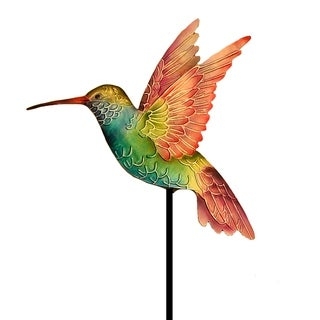 Handmade Rainbow Hummingbird Garden Decoration (Philippines)