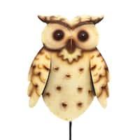 Handmade  Owl Garden Decoration