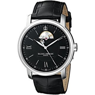 Baume and Mercier Men's 'Classima Executives' Swiss Automatic Skeleton Watch