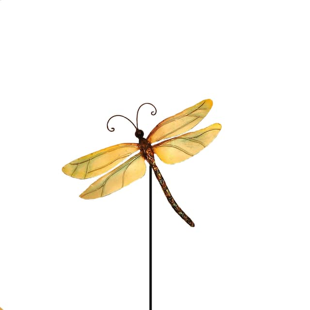Pearl Dragonfly Garden Decoration