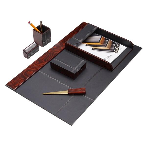 Sterling 6 pc Desk Set