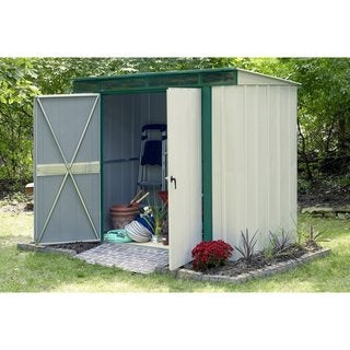 Arrow Euro-Lite Hot Dipped Galvanized Steel Shed (6' x 4')