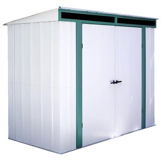 Arrow Euro Lite Hot Dipped Galvanized Steel Shed (8' x 4')