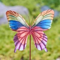 Handmade Butterfly Rainbow Garden Decoration