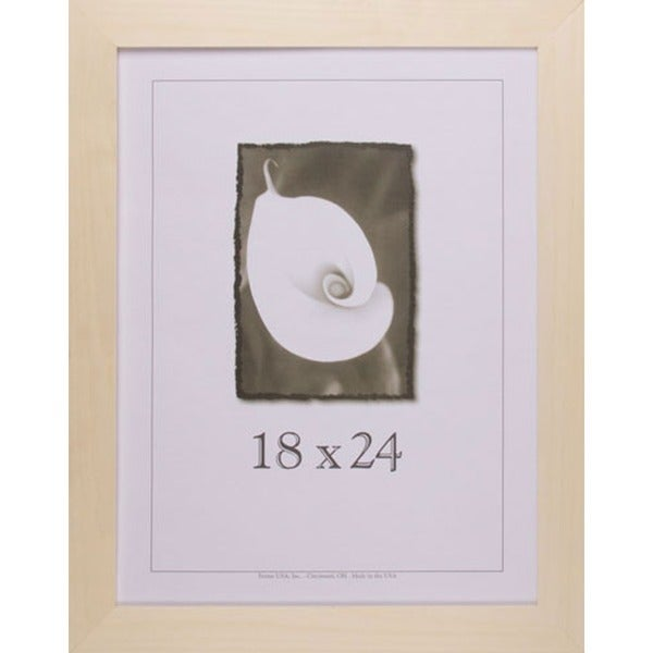 Shop Decorate-It Unpainted Wood 1.5 Inch Picture Frame (18\