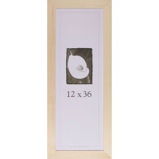 "Decorate-It Unpainted Wood 1.5 Inch Picture Frame (12"" x 36"")"