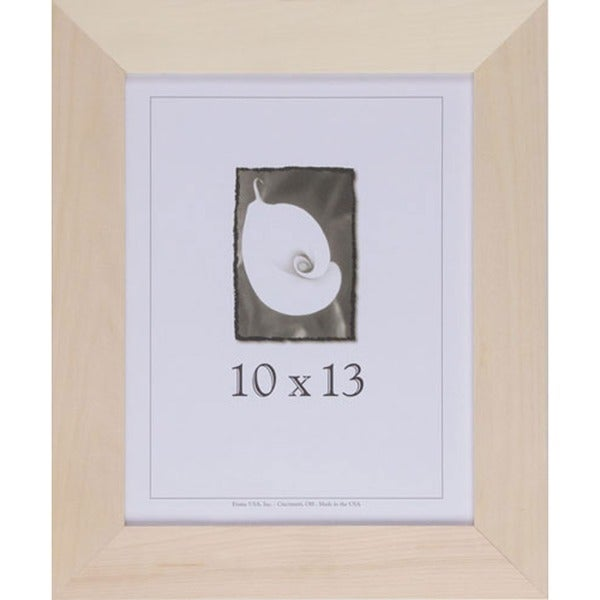 Shop Decorate-It Unpainted Wood 1.5 Inch Picture Frame (10\