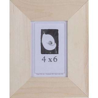"Decorate-It Unpainted Wood 1.5 Inch Picture Frame (4"" x 6"")"