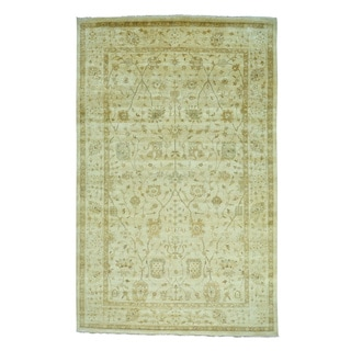Hand Knotted Oushak With Tabriz Design Oversize Rug (10' x 15'6)