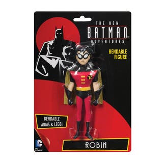 DC Comics Robin New Adventure Bendable Action Figure|https://ak1.ostkcdn.com/images/products/11688833/P18614553.jpg?impolicy=medium