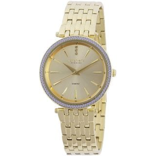 Johan Eric Womens Fredericia JE-F1000-02-002B Stainless Steel Goldwatch