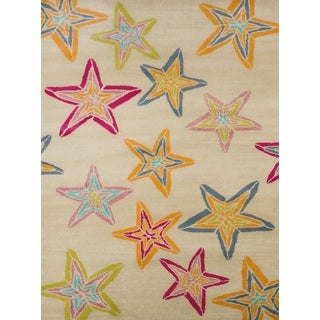 Islander Midnight Stars Accent Rug (1'10 x 3')