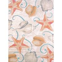 Islander Beach Shells Area Rug - 5'3 x 7'2