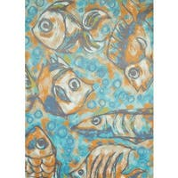 Islander Fishermans Reef Area Rug - 5'3 x 7'2