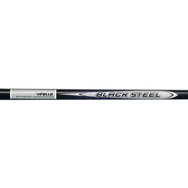 Apollo Black Steel Stepless 0.370-inch Steel Golf Shafts