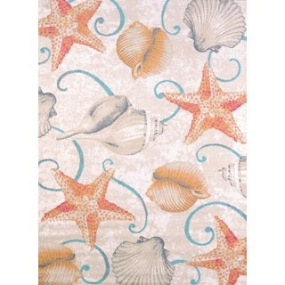 Islander Beach Shells Accent Rug (1'10 x 3')