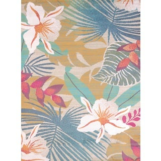Islander Tropical Jungle Accent Rug (1'10 x 3')