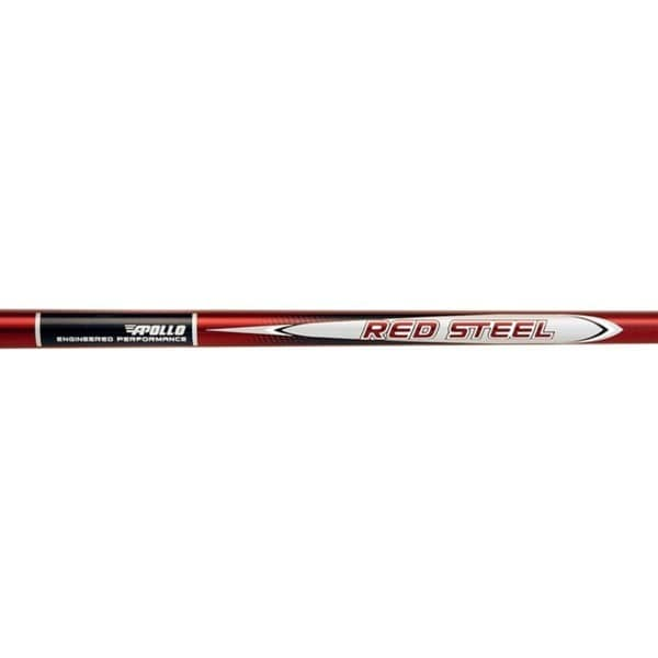 Apollo Red Steel Stepless 0.370-inch Steel Golf Shafts