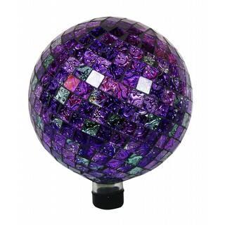 10-inch Gazing Shining Purple Globe|https://ak1.ostkcdn.com/images/products/11689140/P18615091.jpg?impolicy=medium