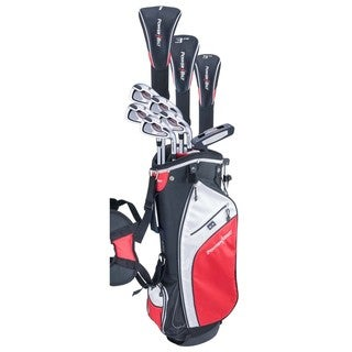 Powerbilt Pro Power Package Set RH (all graphite with cart bag)