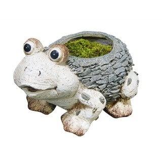 11-inch Frog Planter