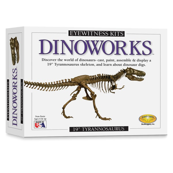 Eyewitness Dinoworks T Rex Skeleton Casting Kit