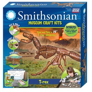 Smithsonian Museum Craft T-rex Casting Kit|https://ak1.ostkcdn.com/images/products/11689598/P18615325.jpg?impolicy=medium