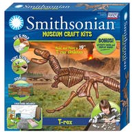 Smithsonian Museum Craft T-rex Casting Kit