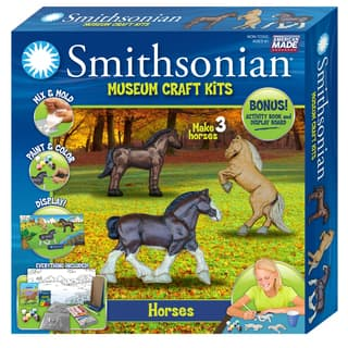 Smithsonian Museum Craft Horse Casting Kit|https://ak1.ostkcdn.com/images/products/11689604/P18615327.jpg?impolicy=medium