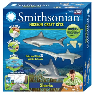 Smithsonian Museum Craft Shark Casting Kit
