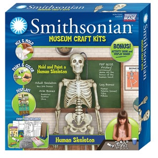 Smithsonian Museum Craft Human Skeleton Casting Kit