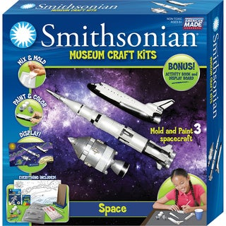 Smithsonian Museum Craft Space Casting Kit