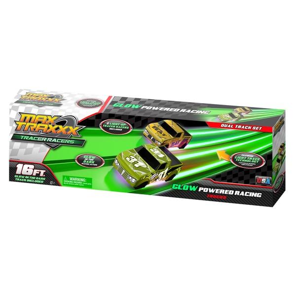 Max Traxxx Tracer Racer 16 Foot Dual Truck Set