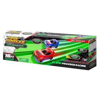 Max Traxxx Tracer Racer 16 Foot Dual Racer Set