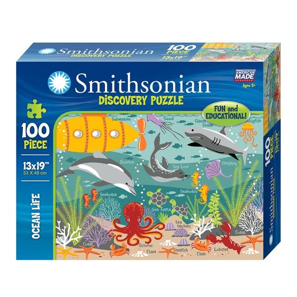 Ocean Life Smithsonian Puzzle