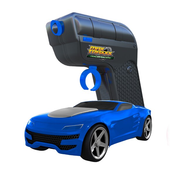 Tracer Racer Blue RC Car and Controller