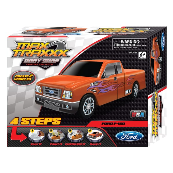 Max Traxxx Body Shop Ford F-150 Truck Casting Kit