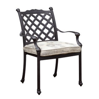 Furniture of America Camille Outdoor Metal Arm Chair (Set of 4)