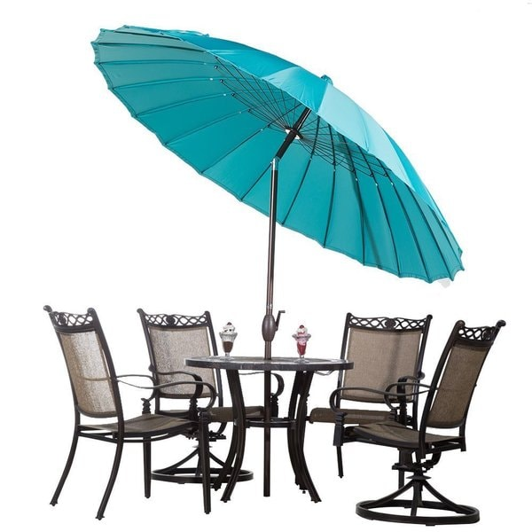 Abba Push On Tilt And Crank 8 5 Foot Parasol Patio Umbrella