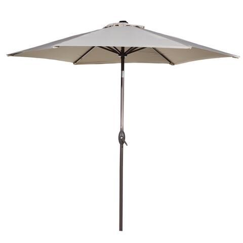 Havenside Home Angoon 9-foot Outdoor Tilt and Crank Patio Umbrella