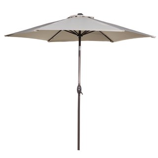 Abba Patio Market Outdoor Aluminum Tilt and Crank Patio Umbrella (9 Feet)