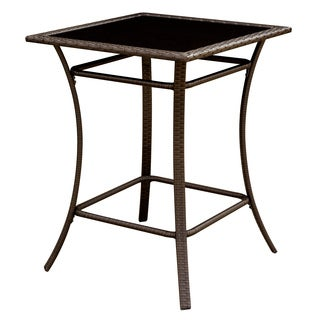 Furniture of America Hailey Espresso Outdoor Bar Table