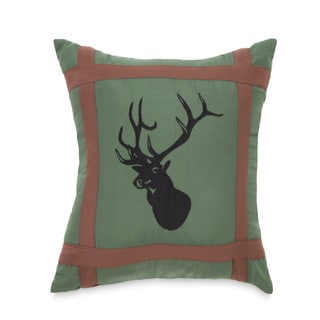 True Timber Mixed Pine Deer Decorative Throw Pillow