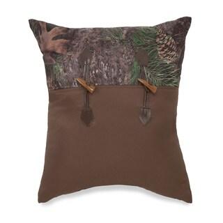 True Timber Mixed Pine Decorative Throw Pillow