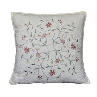 Nostalgia Home Amber Square Decorative Throw Pillow