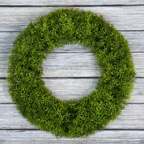 Pure Garden Grass Wreath - 20 inch Round
