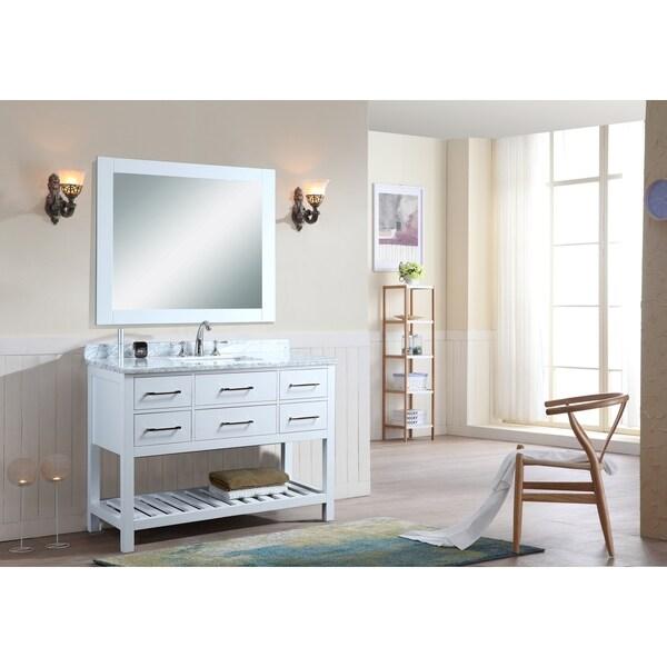 ari kitchen and bath manhattan 48 single bathroom vanity set with