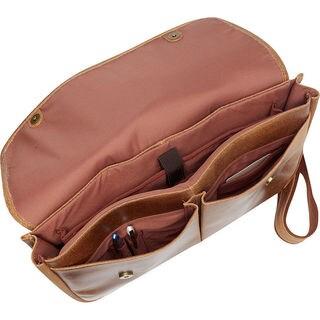 LeDonne Leather Koa Distressed Laptop Messenger Bag